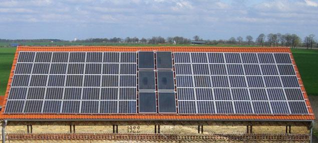 Solar-und-PV-Anlage