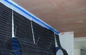 Wand-mit-dem-PP-Film-Ultra-