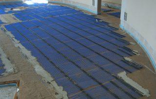 Fußbodenheizung nachträglich einbauen - PP Film Floor
